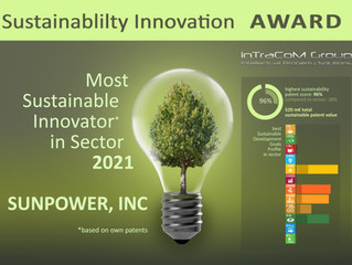 """Sustainability Innovation Champion"": InTraCoM presents patent-based sustainability award 2021"