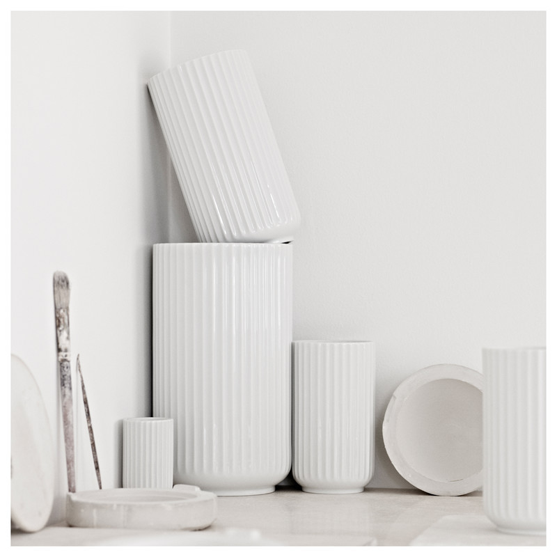 Beautiful ceramic vases from Lyngby Porcelænsfabrik in Denmark