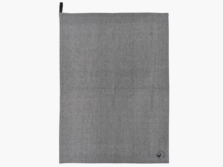 Tea towel, black