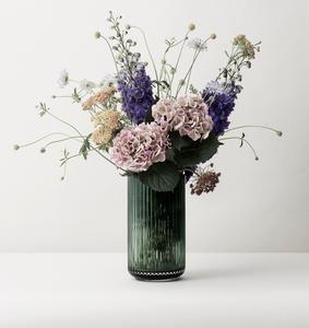 Glass vase from Lyngby Porcelænsfabrik, Denmark