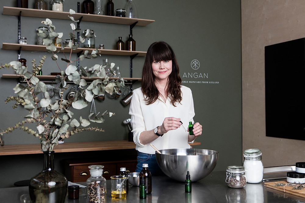 Angan Skincare, handcrafted in Iceland