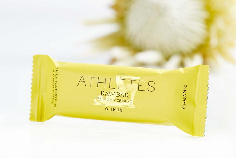 Athletes Raw Bar, Lemon and Lime