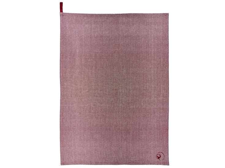 Tea towel, rosewood