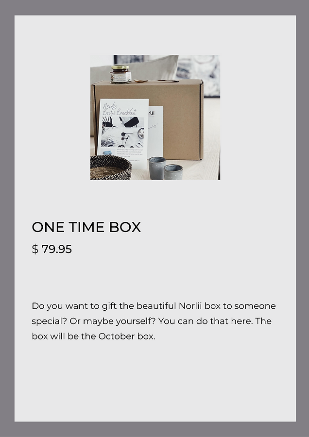 One Time Box
