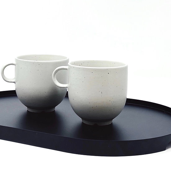 Two Broste cups w/handle