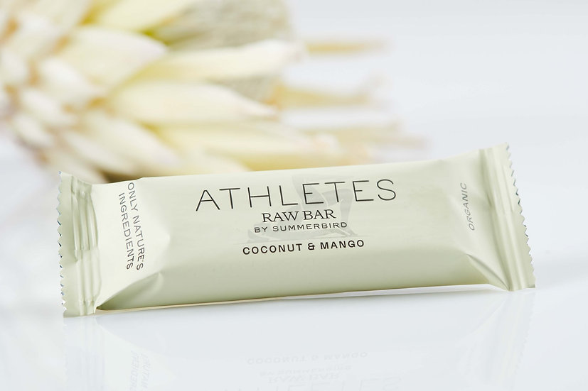 Athletes Raw Bar, Coconut & Mango