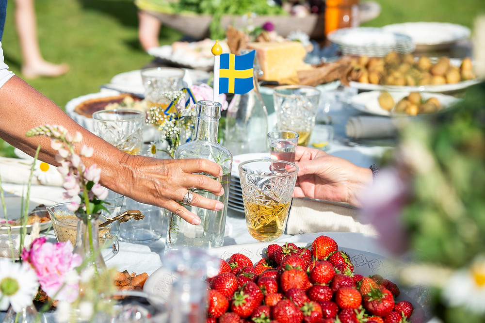 Swedish Midsummer gathering