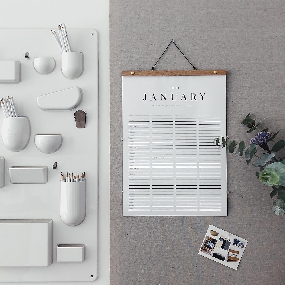 Scandinavian design in your home office