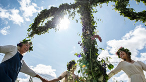 Flower wreaths, dancing around the May pole, and a sun that never sets. Swedes call it Midsummer