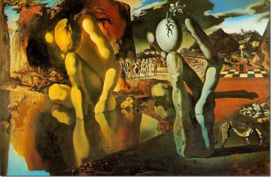 La Metamorfosis de Narciso, S. Dalí