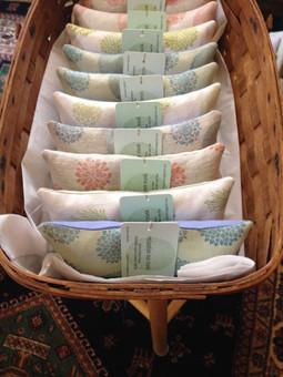 organic lavender and flax eye pillows
