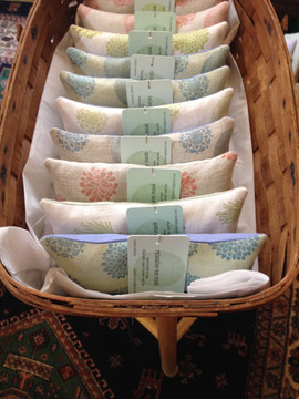organic lavender and flax eye pillows