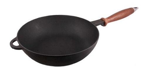Сковорода - сотейник с деревянной ручкой 280*60