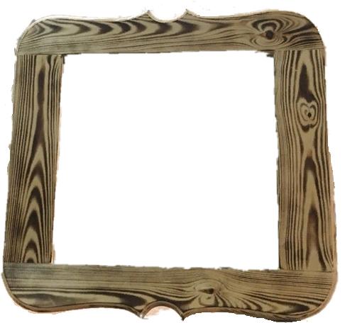 Зеркало резное (сосна)