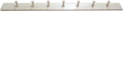 Вешалка простая 7 крючков