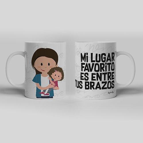 Taza Mama Brazos