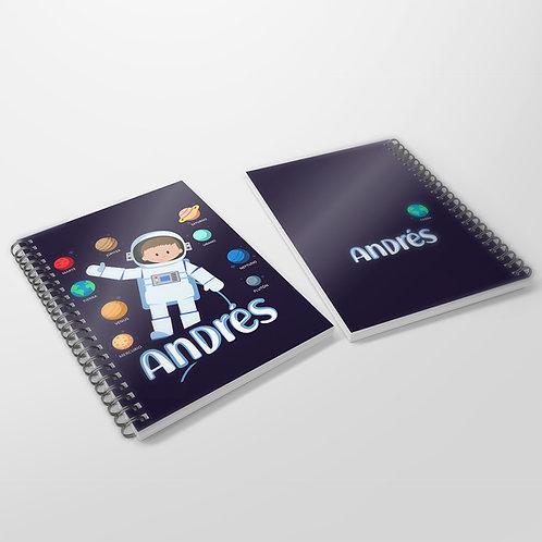 Cuaderno Astronauta