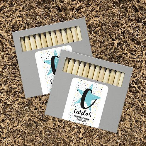 Pack Lápices + Mandalas Inicial (mín. 10 ud)