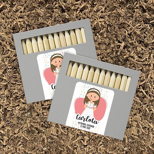 Pack Lápices + Mandalas Gargot (mín. 10 ud)