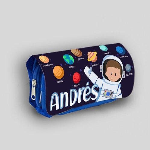 Estuche escolar Astronauta