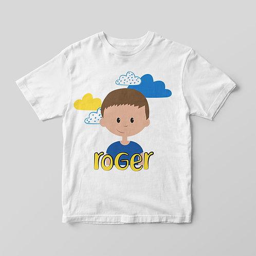 Camiseta Nubes