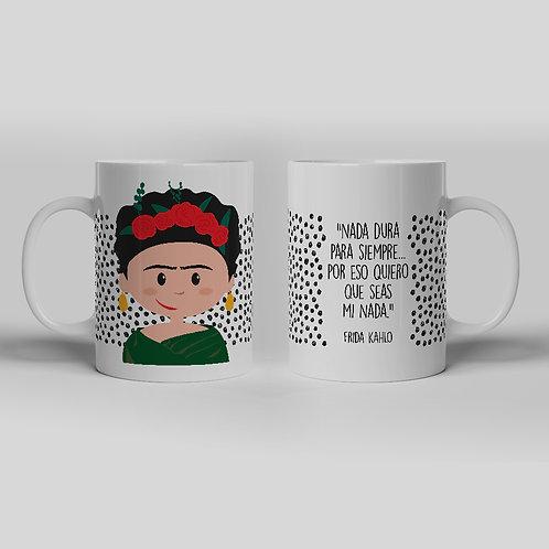 Taza Frida Kahlo Gargot