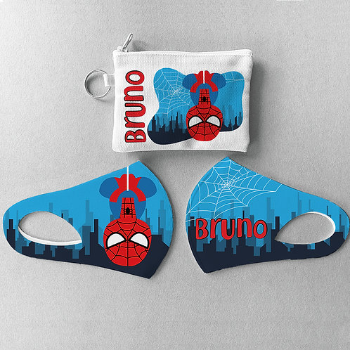 Mascarilla + Estuche Spiderman II