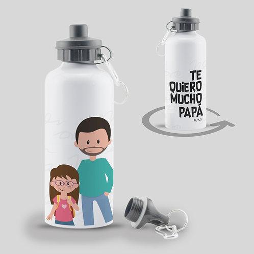Botella Te quiero Papá