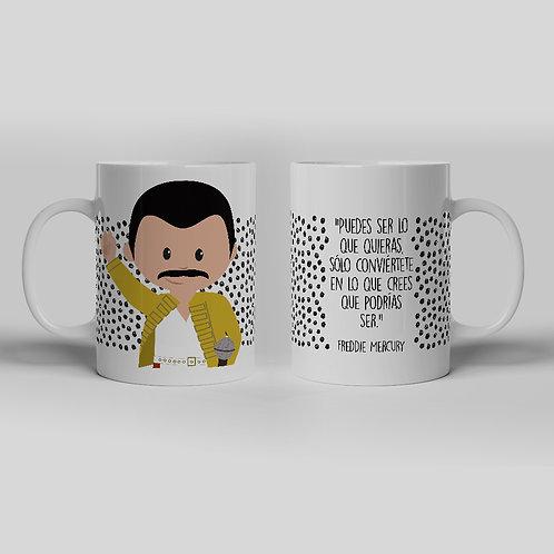 Taza Freddie Mercury Gargot