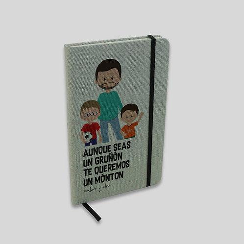 Libreta Papá gruñón