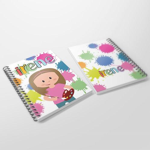Cuaderno Pintura