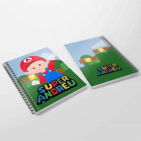 Cuaderno Super Mario Bros