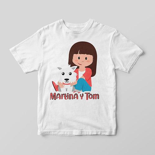 Camiseta con Mascota