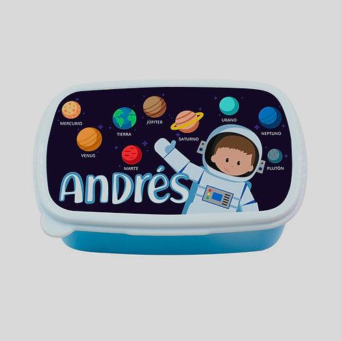 Fiambrera Astronauta