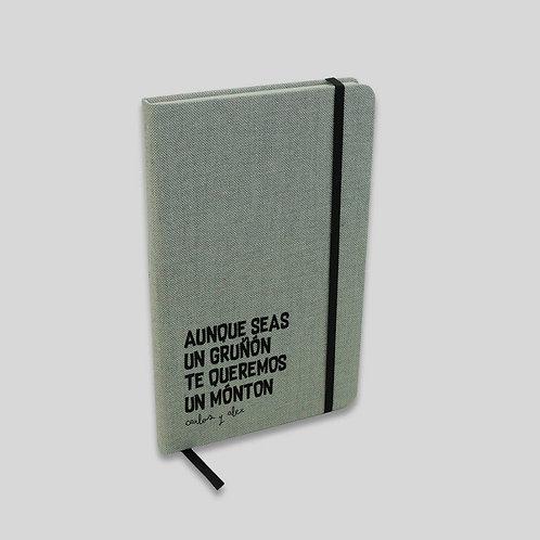 Libreta Texto. Papá gruñón