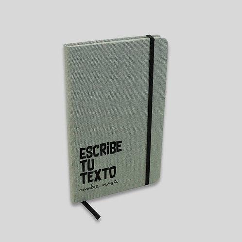 Libreta Texto. 100% personalizada