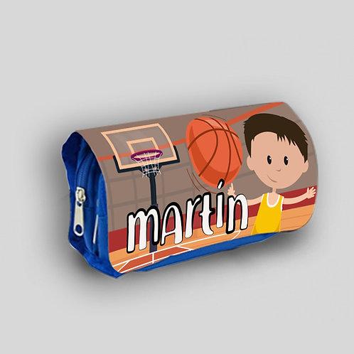 Estuche escolar Basket