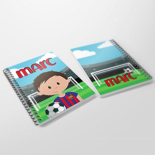 Cuaderno Futbol