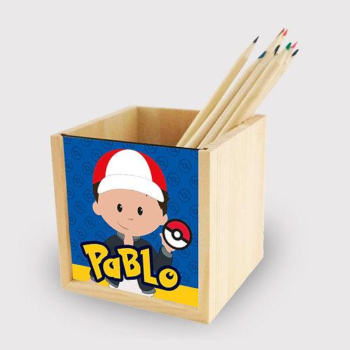 Lapicero madera Pokémon