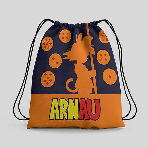 Mochila saco infantil Dragon Ball
