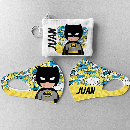 Mascarilla + Estuche Batman
