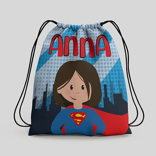 Mochila saco infantil Superman