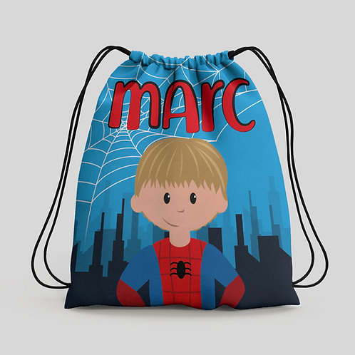 Mochila saco infantil Spiderman