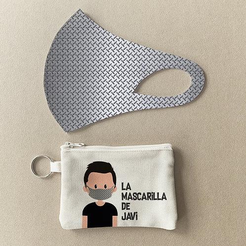 Mascarilla + Estuche Metal III
