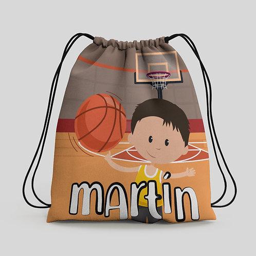 Mochila saco infantil Basket