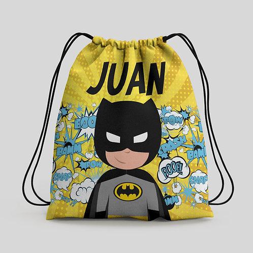 Mochila saco infantil Batman