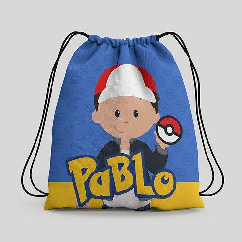 Mochila saco infantil Pokémon