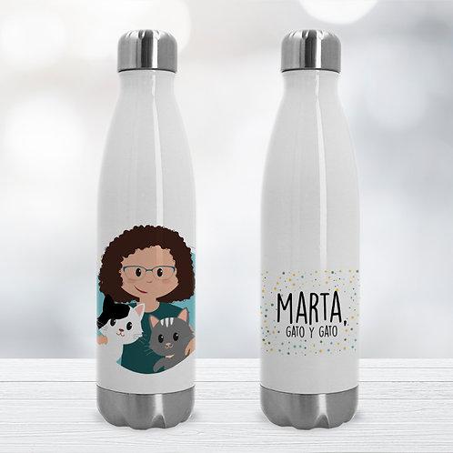 Botella Premium con mascota