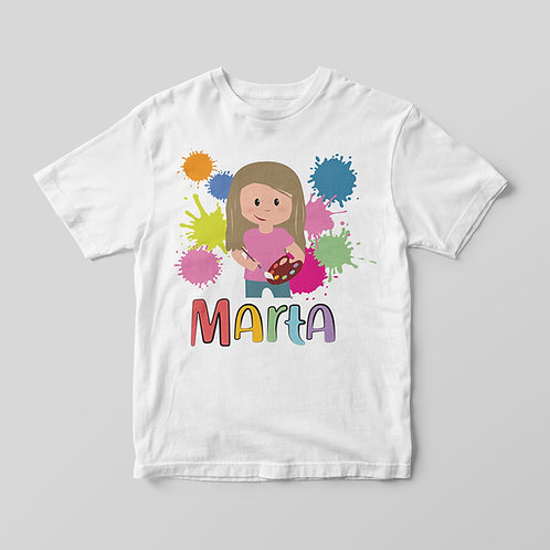 Camiseta Pintura