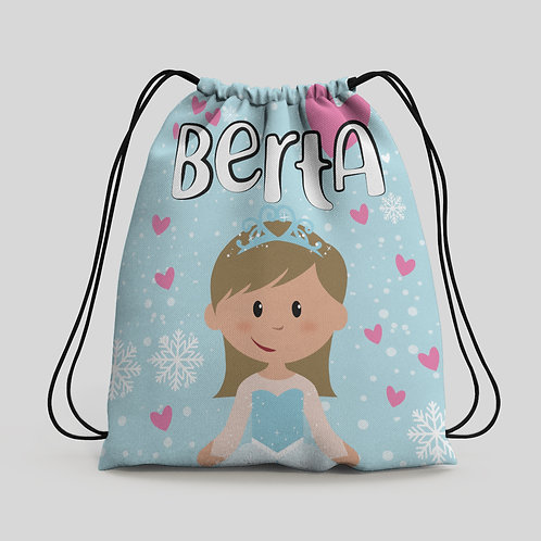 Mochila saco infantil Frozen